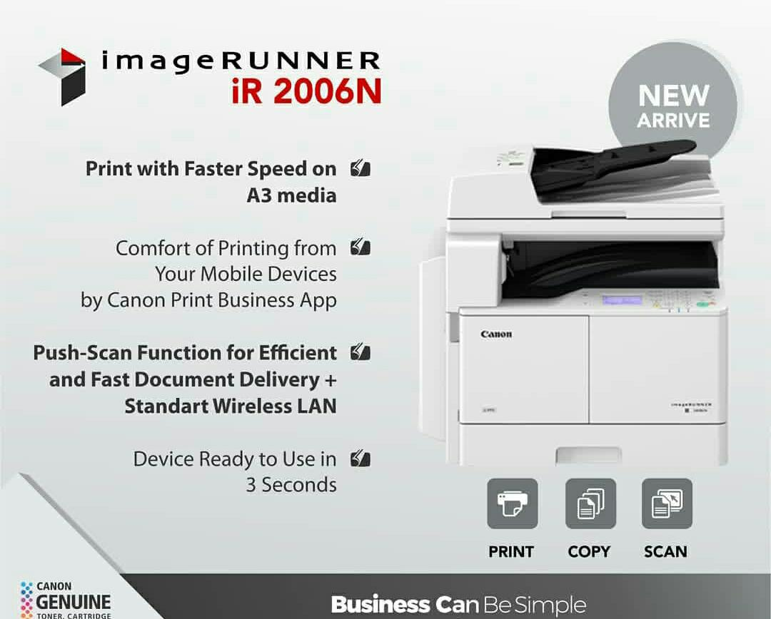 Spesifikasi Canon iR2006N